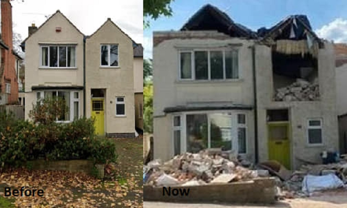 Un entrepreneur détruit la maison d'un client à cause d'une dette